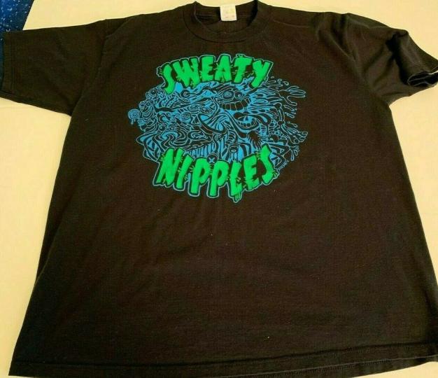 Vintage Sweaty Nipples Band Tour T-shirt - XL