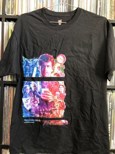 Vintage test prints the burbs movie Tom Hanks space boy comics bootleg shirt L