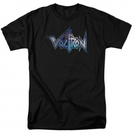 Voltron Space Logo Short Sleeve T-Shirt Licensed Graphic SM-7X