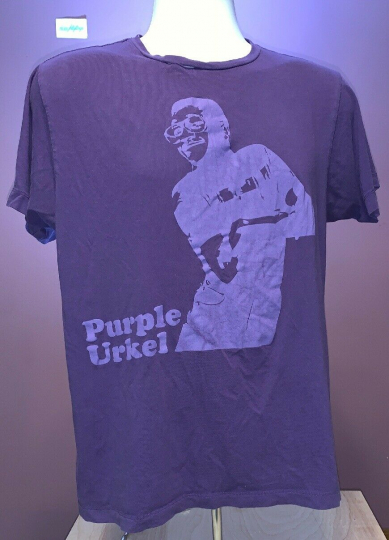 "Vtg ""Purple Urkel"" Mens Medium T Shirt Steve Urkel Family Matters / See Pics"
