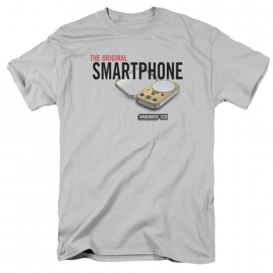 Warehouse 13 TV Show ORIGINAL SMARTPHONE Licensed Adult T-Shirt All Sizes