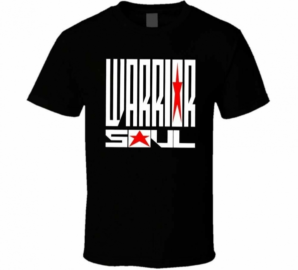 Warrior Soul 90's Hard Rock Band Heavy Cotton Custom T-Shirt Cotton Tee Shirt