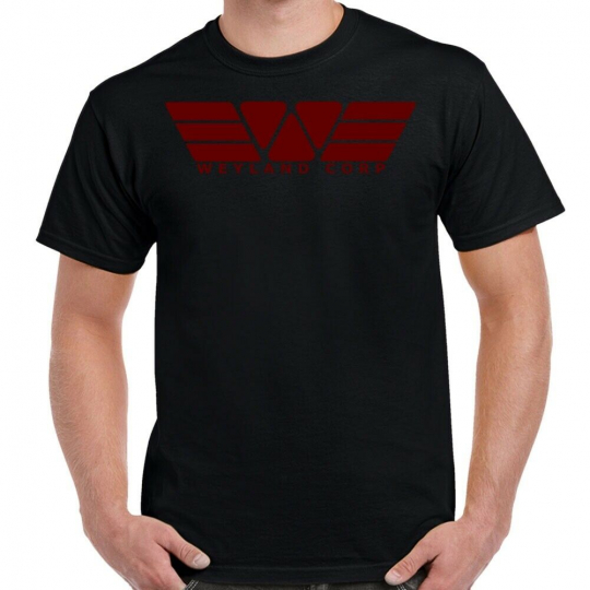 Weyland Yutani Corporation Red Logo Shirt