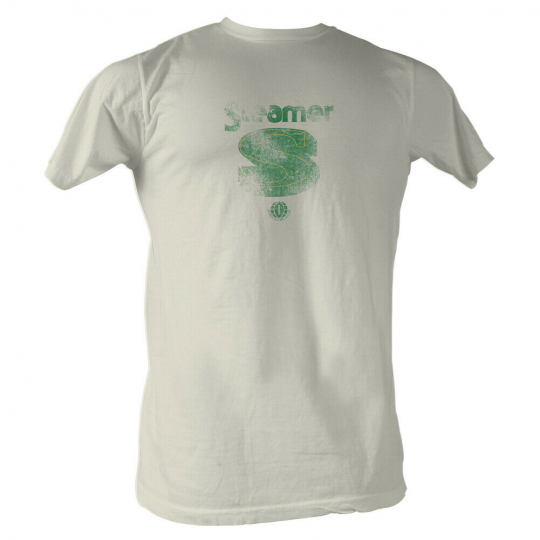 Wfl Steamer S Logo White Adult T-Shirt Tee