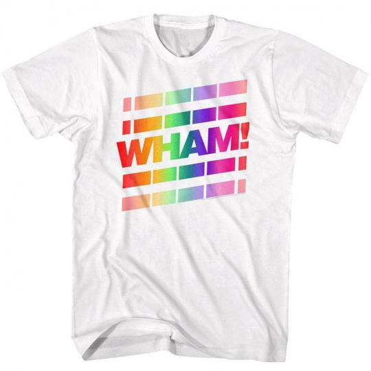 Wham Whainbow White Adult T-Shirt