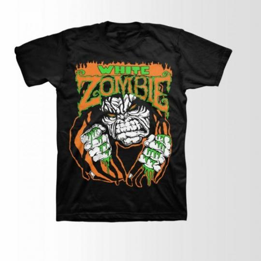 White Zombie Monster Lugosi Music Rock Metal Adult Mens T Tee Shirt 086-01-0013
