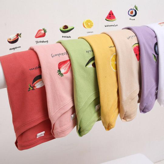 Womens Fruits Printed T Shirt  Short Sleeve Basic Blouse Top Fashion Casual