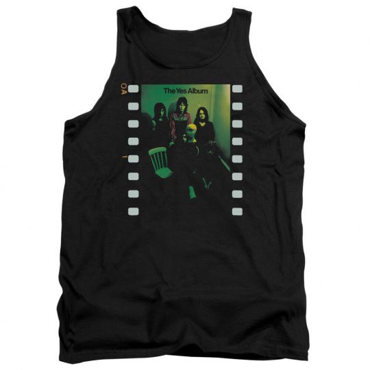 YES ALBUM Licensed Adult Men's Graphic Band Tank Top Sleeveless Tee SM-2XL