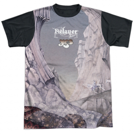YES RELAYERS SUB Licensed Adult Men's Sublimated Graphic Band Tee Shirt SM-3XL