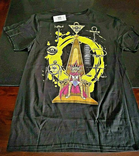 Yu-Gi-Oh Throne Symbols T Shirt NEW!