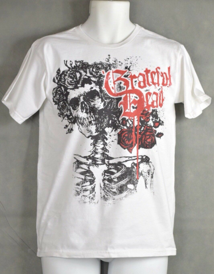 Zion Rootswear  Shirt GRATEFUL DEAD Product White Size Small