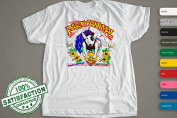 The Original Party Animal | Spuds Mackenzie | Surf And Flowers Shirt