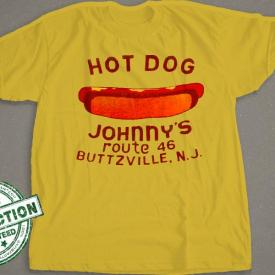 Hot Dog Johnny's Shirt  |  New Jersey T-Shirt | Buttzville NJ