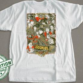 Goonies Inspired Design Poster Shirt