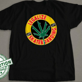 Legalize Skateboarding | Shorty's T-Shirt