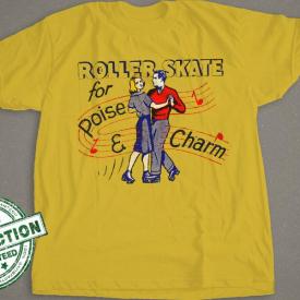 Roller Skate For Poise & Charm
