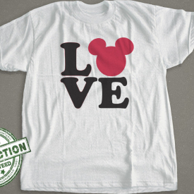 Mickey Love Design