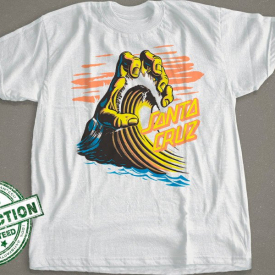 Santa Cruz | Hand Wave T-Shirt