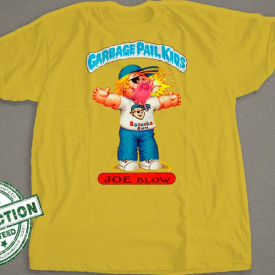 Garbage Pail Kids T-Shirt | Joe Blow  | Bazooka Gum