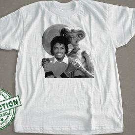 Michael Jackson Holding ET's Hand