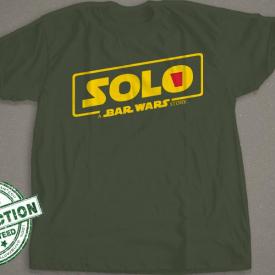Solo T-shirt | A Bar Wars Story Shirt | Solo Cup