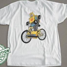 Transformers Bumble Bee | Bike Shirt
