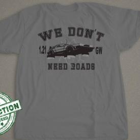 Back To The Future | We Don't Need Roads | 1.21 Gigawatt (GW) | DeLorean