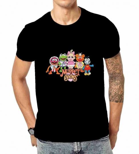 muppet babies black Custom Gildan Men Tshirt