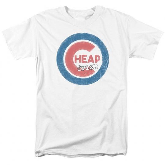 official Authentic Cheap Trick Cub Logo Rock Group Band T-shirt S M L X 2X 3X